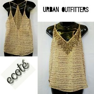 Urban Outfitters ecote Racerback Blouse Size M